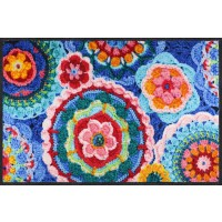 Fußmatte Crochet