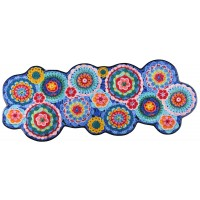 Fußmatte Crochet wolke big