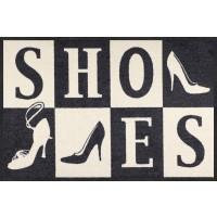 Fußmatte Shoes Squares