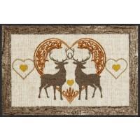 Loving deers
