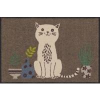 Fußmatte Content Cat