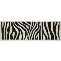 Fußmatte Zebra Look XL