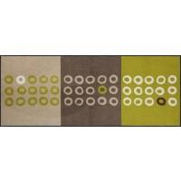 Fußmatte Geometric Dots Green XXL