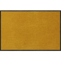 Fußmatte Salonloewe Uni safran rechteckig 40 cm x 60 cm