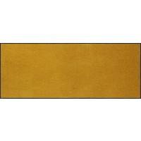 Fußmatte Salonloewe Uni safran rechteckig 75 cm x 190 cm