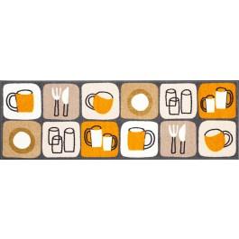 Fußmatte Salonloewe Design Kitchen Tiles XXL 60cm x 180cm