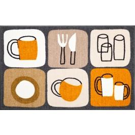 Fußmatte Salonloewe Design Kitchen Tiles 75cm x 120cm