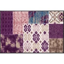 Fußmatte Salonloewe Design Marrakesch Aubergine 50cm x 75cm