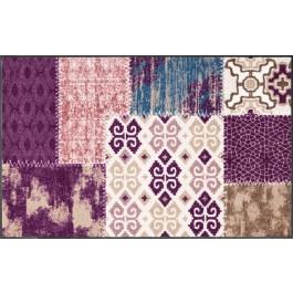 Fußmatte Salonloewe Design Marrakesch Aubergine 75cm x 120cm