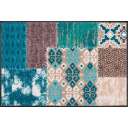 Fußmatte Salonloewe Design Marrakesch Emerald 75cm x 120cm