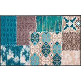 Fußmatte Salonloewe Design Marrakesch Emerald 50cm x 75cm