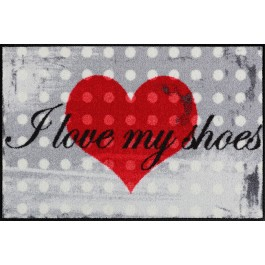 Fußmatte Salonloewe Design I love my shoe's 75cm x 120cm