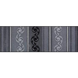 Fußmatte Salonloewe Design Arabeske Grau 60cm x 180cm
