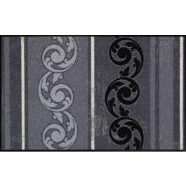 Fußmatte Salonloewe Design Arabeske Grau 75cm x 120cm