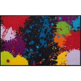Fußmatte Salonloewe Design Splash 75 cm x 120 cm