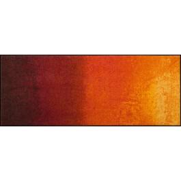 Fußmatte Salonloewe Design Shabby Orange XXL