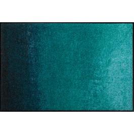 Fußmatte Salonloewe Design Shabby Petrol 50 cm x 75 cm