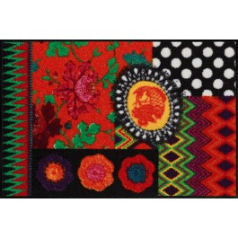 Fußmatte Salonloewe Design Black Beauty 50 cm x 75 cm