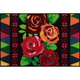 Fußmatte Salonloewe Design Beauty Roses 75cm x 120cm