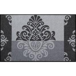 Fußmatte Salonloewe Design Leander Grey 75 cm x 120 cm