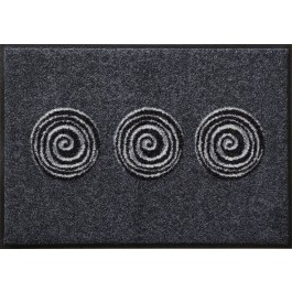 Fußmatte Salonloewe Design Finn Anthrazit 75 cm x 120 cm