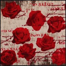 Fußmatte Salonloewe Design Scent of Roses 85cm x 85cm