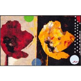 Fußmatte Salonloewe Design Anna's Mohn 50cm x 75cm