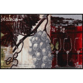 Fußmatte Salonloewe Design Chateau Grand Vin 50cm x 75cm