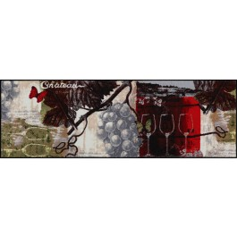 Fußmatte Salonloewe Design Chateau Grand Vin 60cm x180cm