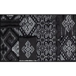 Fußmatte Salonloewe Design La Grange Black 75 cm x 120 cm