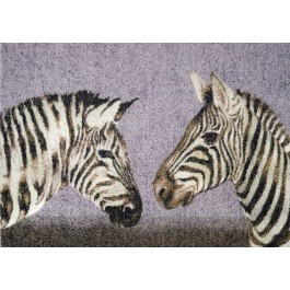 Fußmatte Clean Keeper Zebras