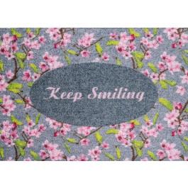 Fußmatte Clean Keeper Keep Smiling