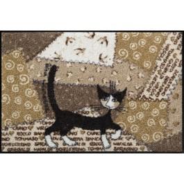 Fußmatte Salonloewe Wachtmeister Lifestyle Serafino Patch 50 cm x 75 cm