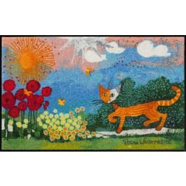 Fußmatte Salonloewe Wachtmeister Lifestyle Daisies 75 cm x 120 cm