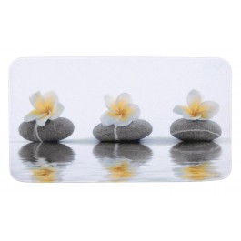 Badematte Stones with Flower