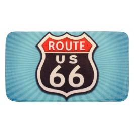 Badematte Vintage Route 66