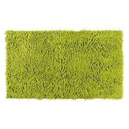 Badteppich Chenille grün