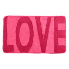 Badteppich Memory Foam Love pink