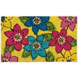 Kokosfußmatte Lako Cocoprint Colori Blumen