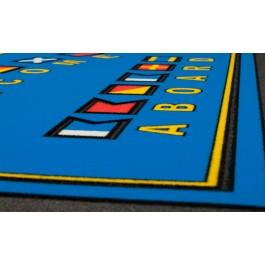 Fußmatte Signalflaggen