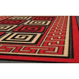 Fußmatte Pompeji rot