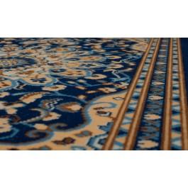 Fußmatte Oriental blau