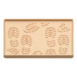 Fußmatte Boot Tray beige