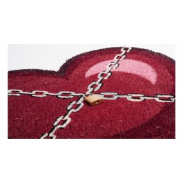 Fußmatte Chainheart Kokos detail