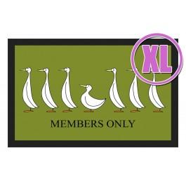 Fußmatte Deco & Wash Members only XL