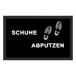 Fußmatte Deco & Wash Schuhe abputzen