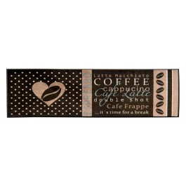Fußmatte Easy Clean Coffee dunkel XXL