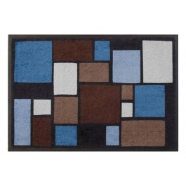 Easy Clean Mats Mosaik blau