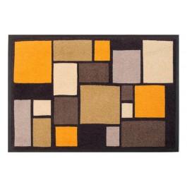 Fußmatte Easy Clean Mats Mosaik gelb