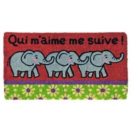 Fussmatte Elefanten